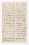 Alexander Nisbet letter to Justin Perkins, 1836 June 13