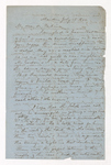 William Frederic Williams letter to Justin Perkins, 1864 July 26