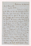 Austin Hazen Wright letter to Justin Perkins, 1863 July 13