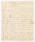 George Woodfall letter to Justin Perkins, 1838 February 24 to March 9