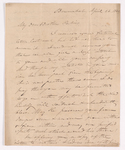 Elias Riggs letter to Justin Perkins, 1843 April 26