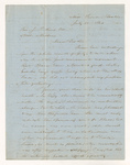 Selah Burr Treat letter to Justin Perkins, 1863 July 31