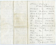Emily Dickinson letter to J. K. Chickering