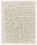Austin Hazen Wright letter to Justin Perkins, 1846 May 12