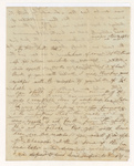 Ira Tracy letter to Justin Perkins, 1838 November 4