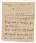 John Theodore Wolters letter to Justin Perkins, 1837 July 22