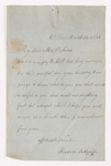 Alexander B. Ozoroff letter to Justin Perkins, 1858 March 12