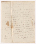 Alexander Nisbet letter to Justin Perkins, 1837 January 14