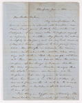 Elias Riggs letter to Justin Perkins, 1863 June 1
