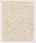 Eliza Cheney Abbott Schneider letter to Charlotte Bass Perkins, 1834 September 8