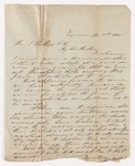 Josiah Peabody letter to Justin Perkins, 1846 November 13