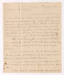 George Woodfall letter to Justin Perkins, 1839 August 1