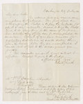 John Cross Smith letter to Justin Perkins, 1842 May 18