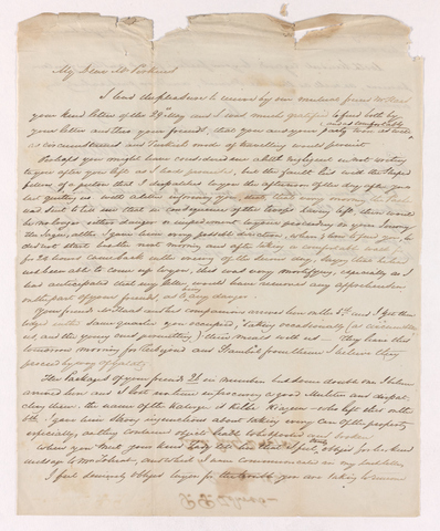 P. P. Zohrab letter to Justin Perkins, 1837 June 8