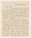 Horatio Southgate letter to Justin Perkins, 1841 February 11