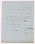 Justin Perkins, William Redfield Stocking, Austin Hazen Wright, and Joseph Gallup Cochran letter of introduction for Mar Yohannan, 1848 November 22