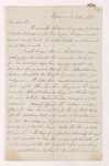 Edward Zohrab letter to Justin Perkins, 1837 July 14