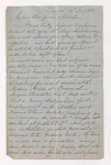 George Woodfall letter to Justin Perkins, 1863 July 14