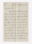 Joseph Reed letter to Justin Perkins, 1846 October 30