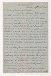 George Woodfall letter to Justin Perkins, 1864 January 29