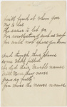 "Transcription of Emily Dickinson's ""You'll find it when you try to die"""
