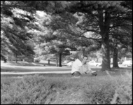 Photographs of campus scenes, 1974 September 13