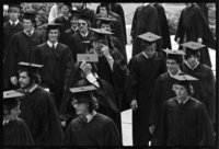 Photographs of 155th Commencement ceremony, 1976 June 6