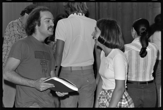 Photographs of Freshman Orientation, 1976 September 7-9