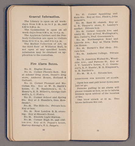 Students' hand-book of Amherst College, 1904-1905