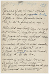 "Transcription of Emily Dickinson's ""Bereaved of all, I went abroad"""