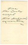 Lavinia Dickinson letters to Mrs. Herbert (Sara) Cowles and Katharine Cowles