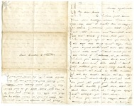 Emily Dickinson letter to Miss Emily E. Fowler