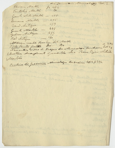 Edward Hitchcock classroom lecture notes,