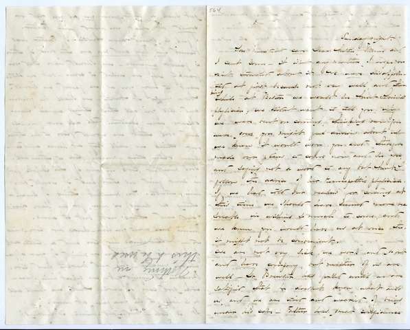 Emily Dickinson letter to W. Austin Dickinson