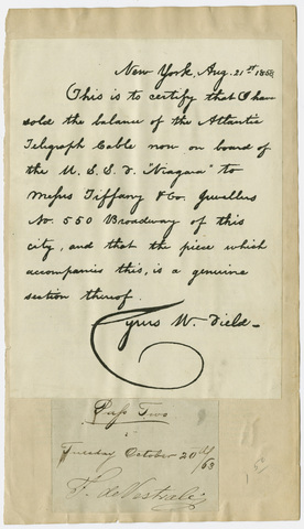 Edward Hitchcock letter to unidentified recipient, 1851 November 4