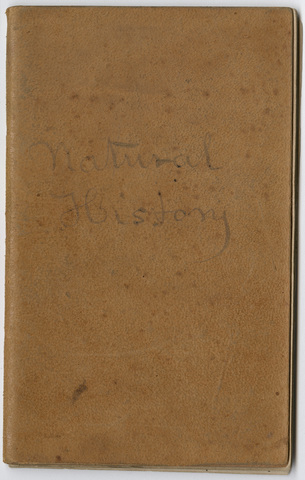 Edward Hitchcock account book for the Footmark Fund
