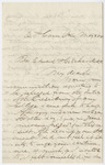 Samuel Williston letter to Edward Hitchcock, 1854 May 8