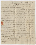 Pastor John Emerson letter to Reverend Benjmain Rice, 1821 May 25