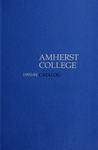 Amherst College Catalog 1993/1994