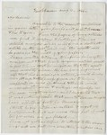 Benjamin Silliman letter to Edward Hitchcock, 1844 August 10