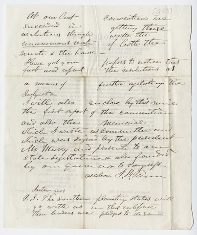 Illinois General Assembly resolutions regarding industrial universities and general education, approved 1853 February 8