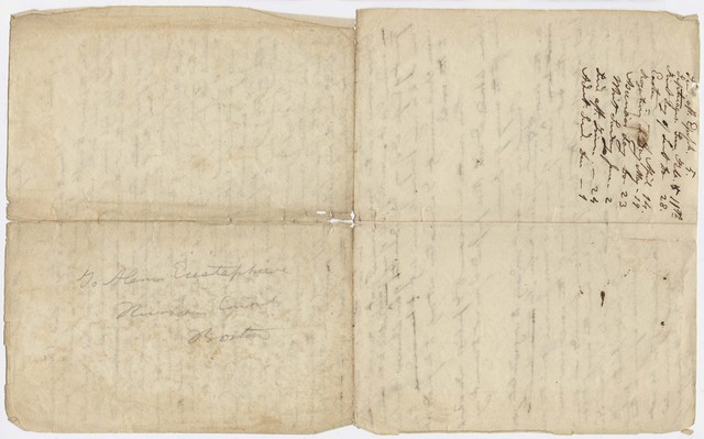 Edward Hitchcock letter to Alexis Eustaphieve, 1815 August 8
