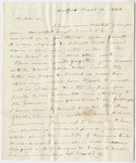 Benjamin Silliman letter to Edward Hitchcock, 1838 March 17