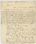 Edward Hitchcock letter to Benjamin Silliman, 1829 April 1