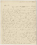 Edward Hitchcock letter to [James Deane], 1844 November 10