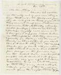 Edward Hitchcock letter to Mary Hitchcock, 1844 December 16