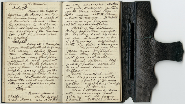 Edward Hitchcock diary, 1850 May 15 to 1850 August 9