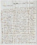 Benjamin Silliman letter to Edward Hitchcock, 1843 September 13