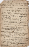 Edward Hitchcock sermon notes, 1839 April