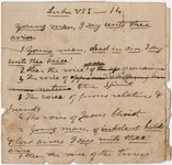 Edward Hitchcock sermon notes, 1832 February 23